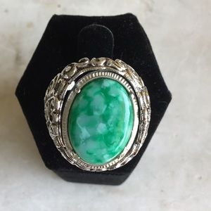 Sarah Coventry two sided flip ring. Very rare!